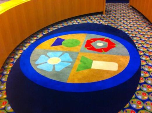 Photo of Peter Blake carpet