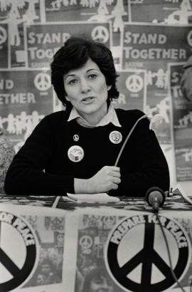 Joan Ruddock in 1983. Image: © Pam Isherwood / Format